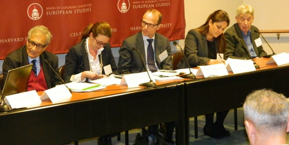 Harvard FXB Roma conference (with Center for European Studies), April 8, 2013