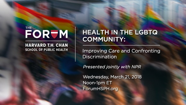 Health in the LGBTQ Community: Presented jointly with NPR