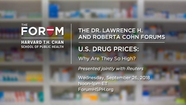 U.S. Drug Prices: Presented jointly with Reuters