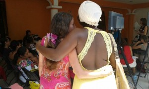 mexican midwifery association tulum midwives mexican regional forum maternal mortality embrace hug