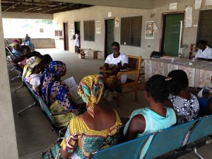 ghana group antenatal care women empowerment improved outcomes health center women's group maternal health midwife