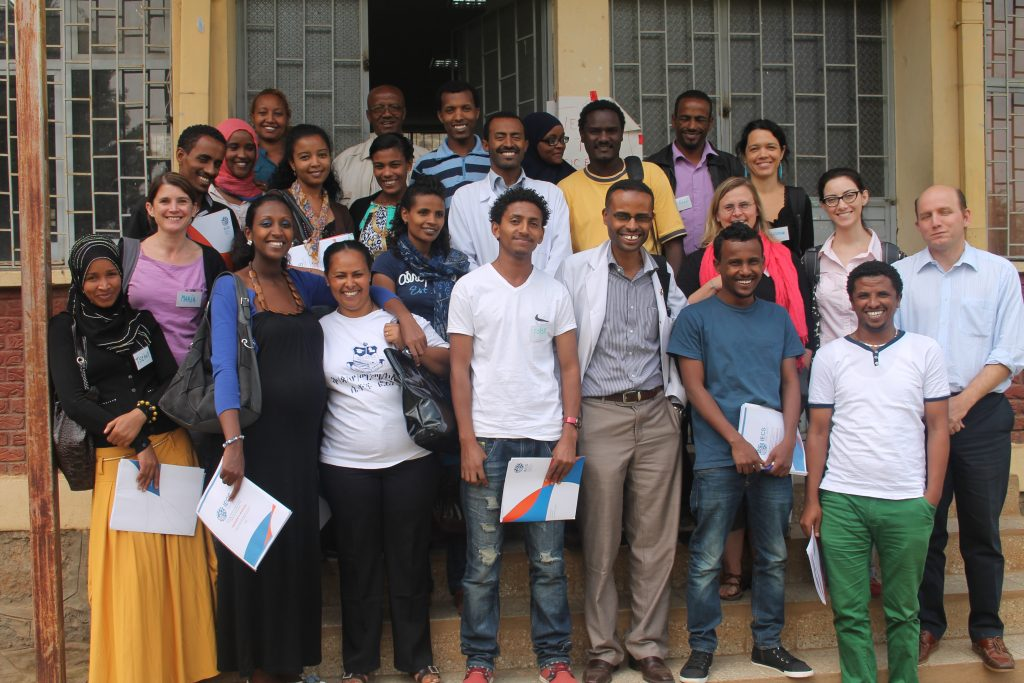 Obstetric emergency drills training in Ethiopia, May 2013. Photo credit: IECS