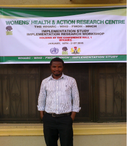 Isaac Oriafo Ejakhegbe is a Women Deliver Young Leader from Nigeria.
