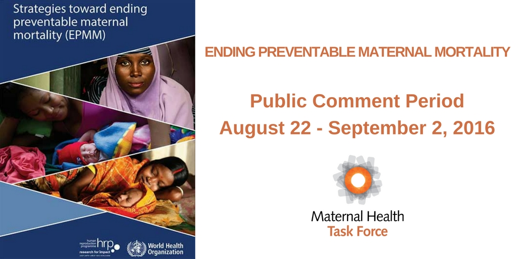 Calling All Technical Experts in Maternal Newborn Health Measurement: Two Ways to Get Involved