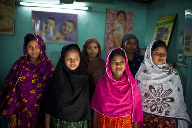 Photo Credit: New mothers at a BRAC facility in Dhaka, Bangladesh, March 2012, courtesy of Conor Ashleigh/AusAID.