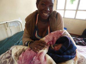 Woman and baby Malawi