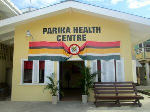 Health centre in Guyana, South America. Photo credit: Elizabeth Marcuse/United States Peace Corps
