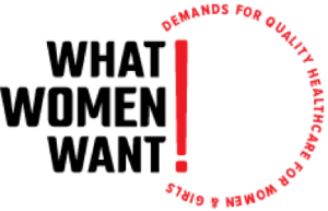 What Women Want campaign logo