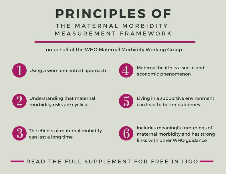 A new conceptual framework for maternal morbidity Veronique Filippi Doris Chou Maria Barreix Lale Say the WHO Maternal Morbidity Working Group (MMWG)